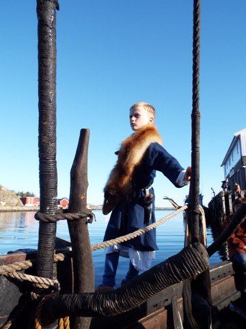 A trip on the Viking ship